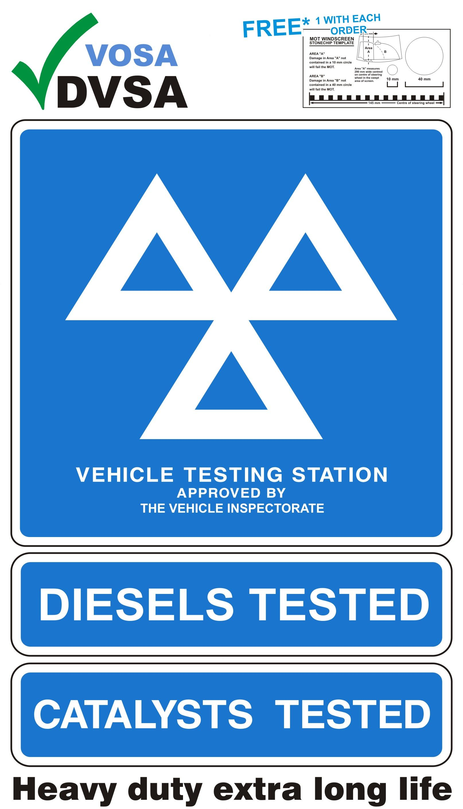 1k H Duty Mot Waiting Area Sign